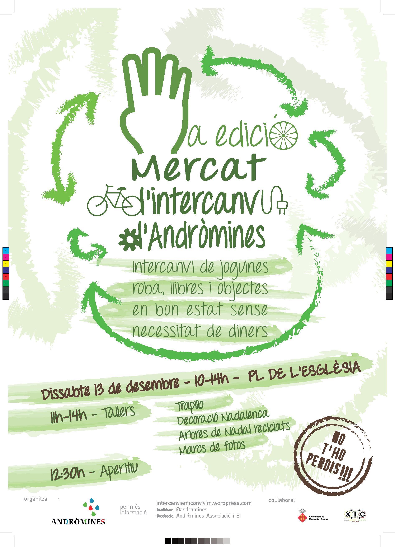 Cartell Mercat Intercanvi 2014