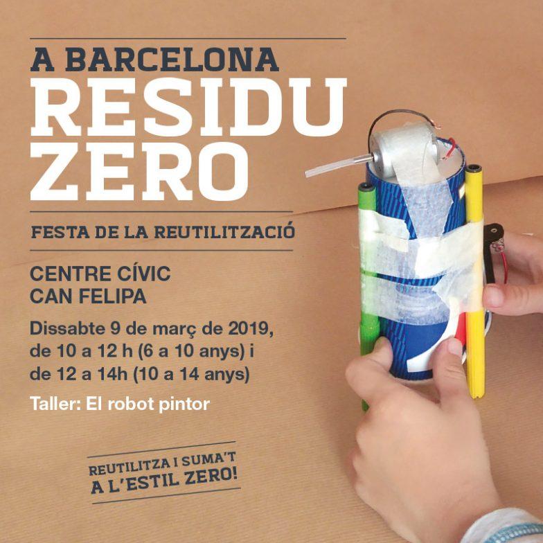 Festa de la Reparació al CC Can Felipa – Vine i crea un ROBOT