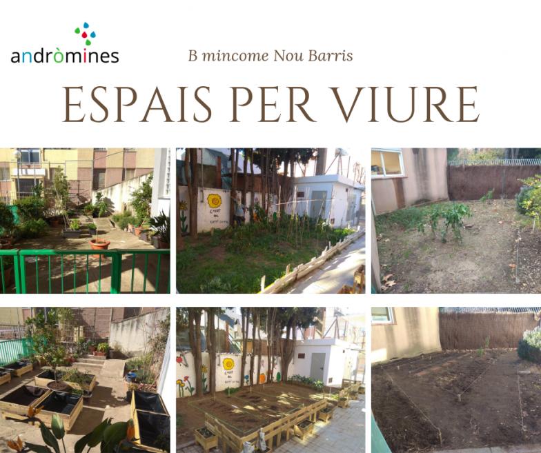 Pinzellades del projecte B-mincome a Nou Barris