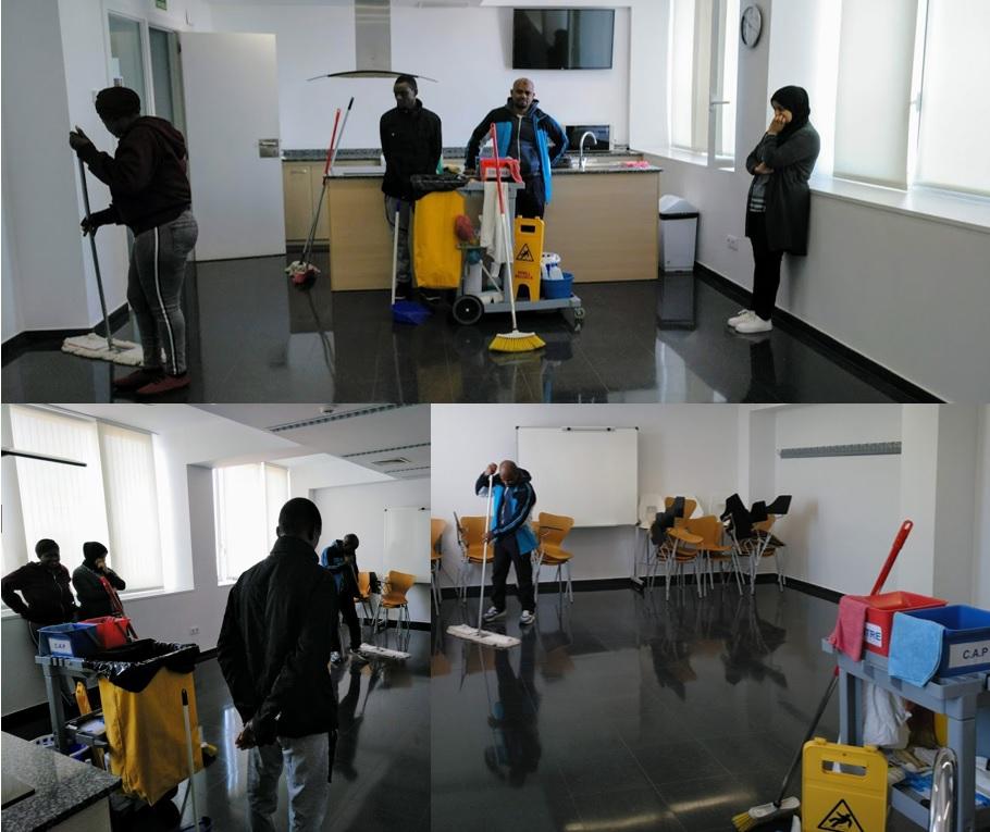 Programa Trabajo en los barrios a Higueras
