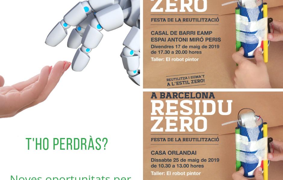 Una primavera plena de robots pintors