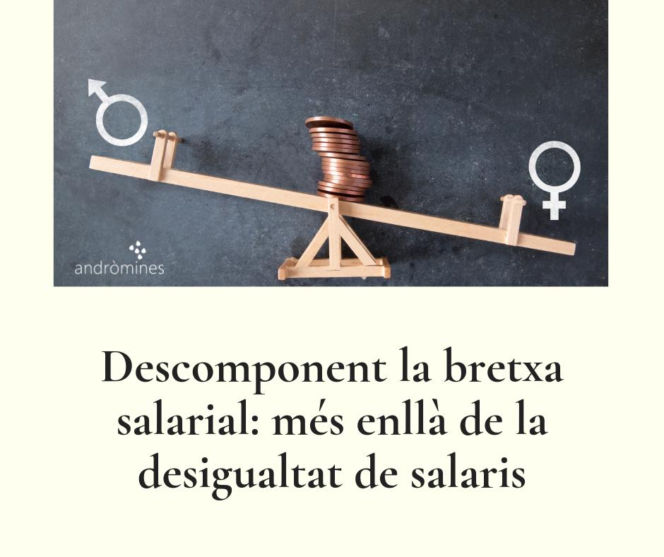 Descomponiendo la brecha salarial: más allá de la desigualdad de salarios