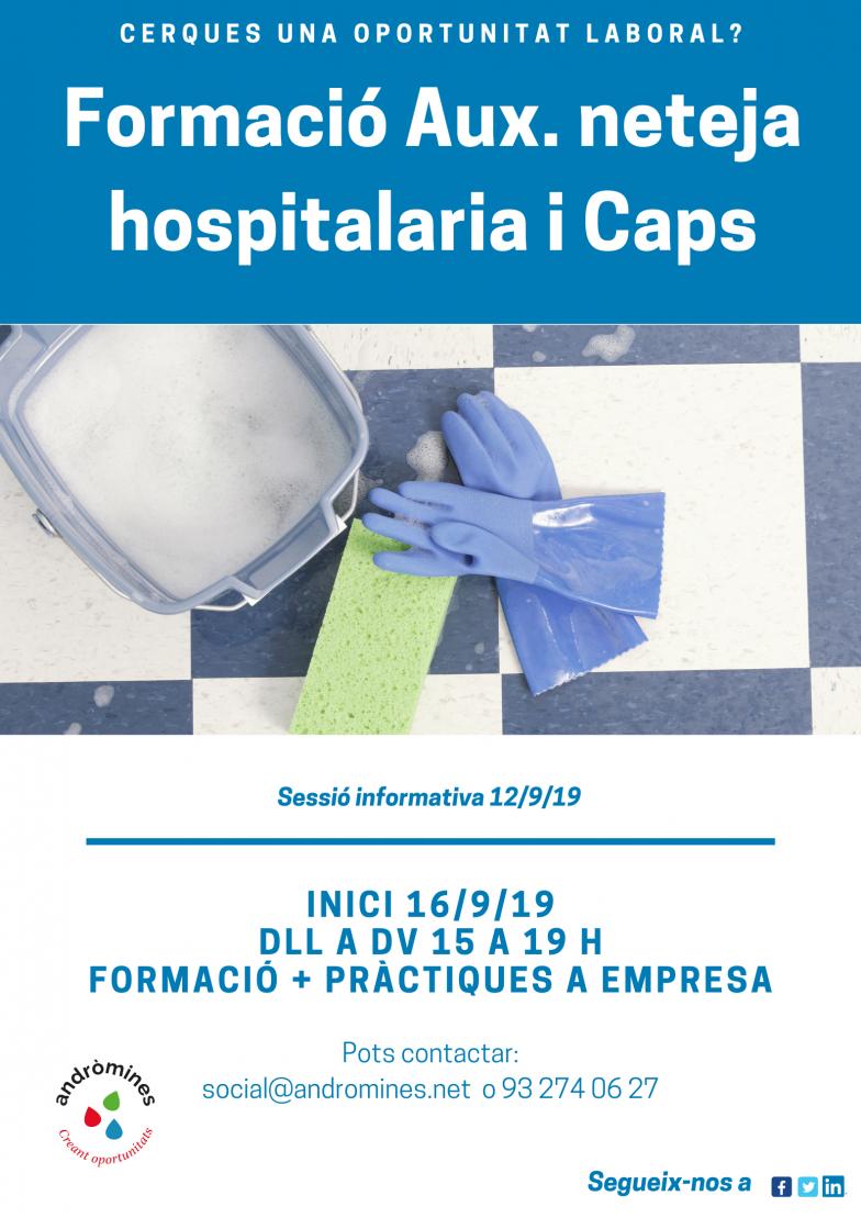 Formación profesionalizadora Auxiliar limpieza hospitalaria!!!!