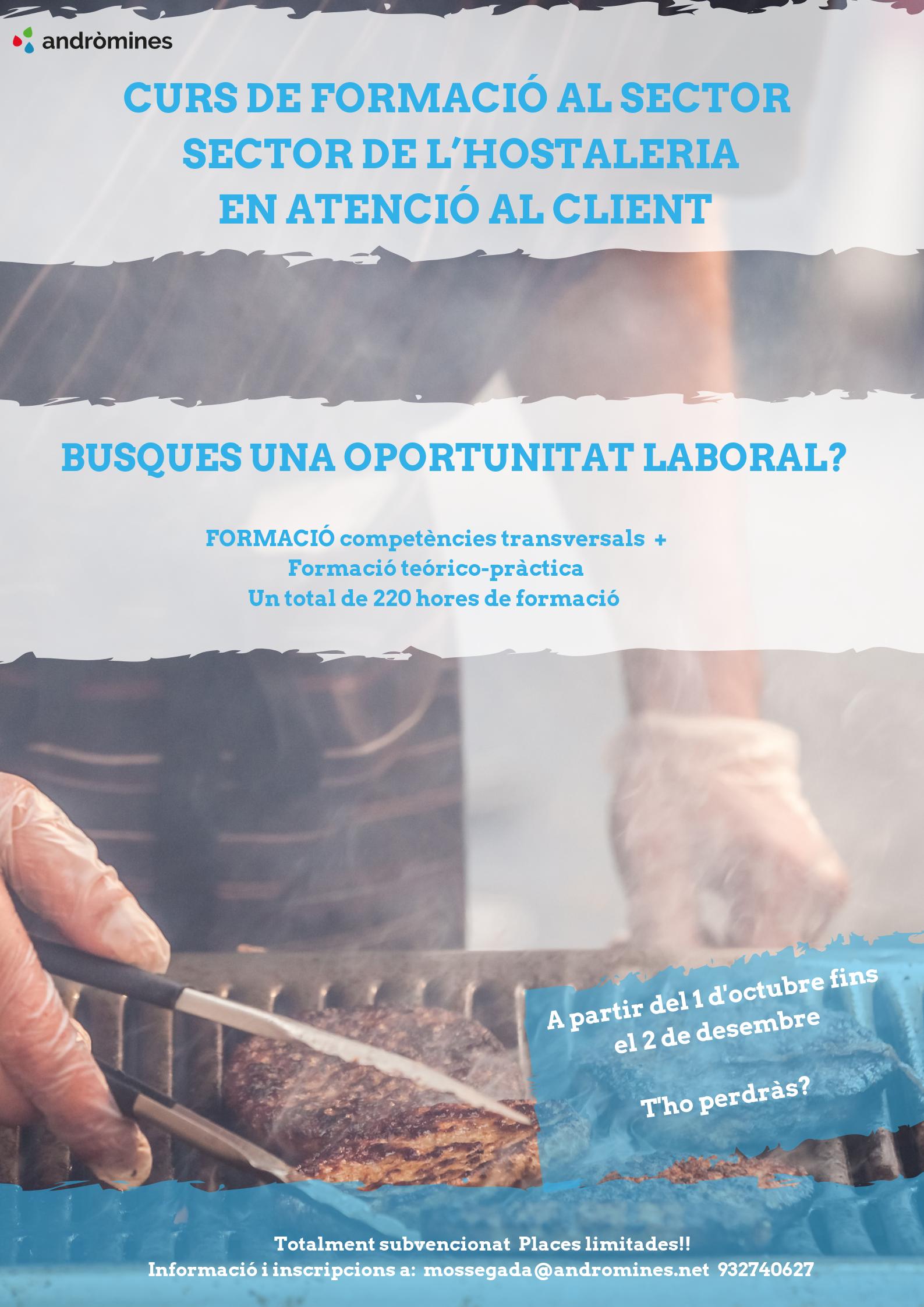 Formació professionalitzadora Atenció al Client!