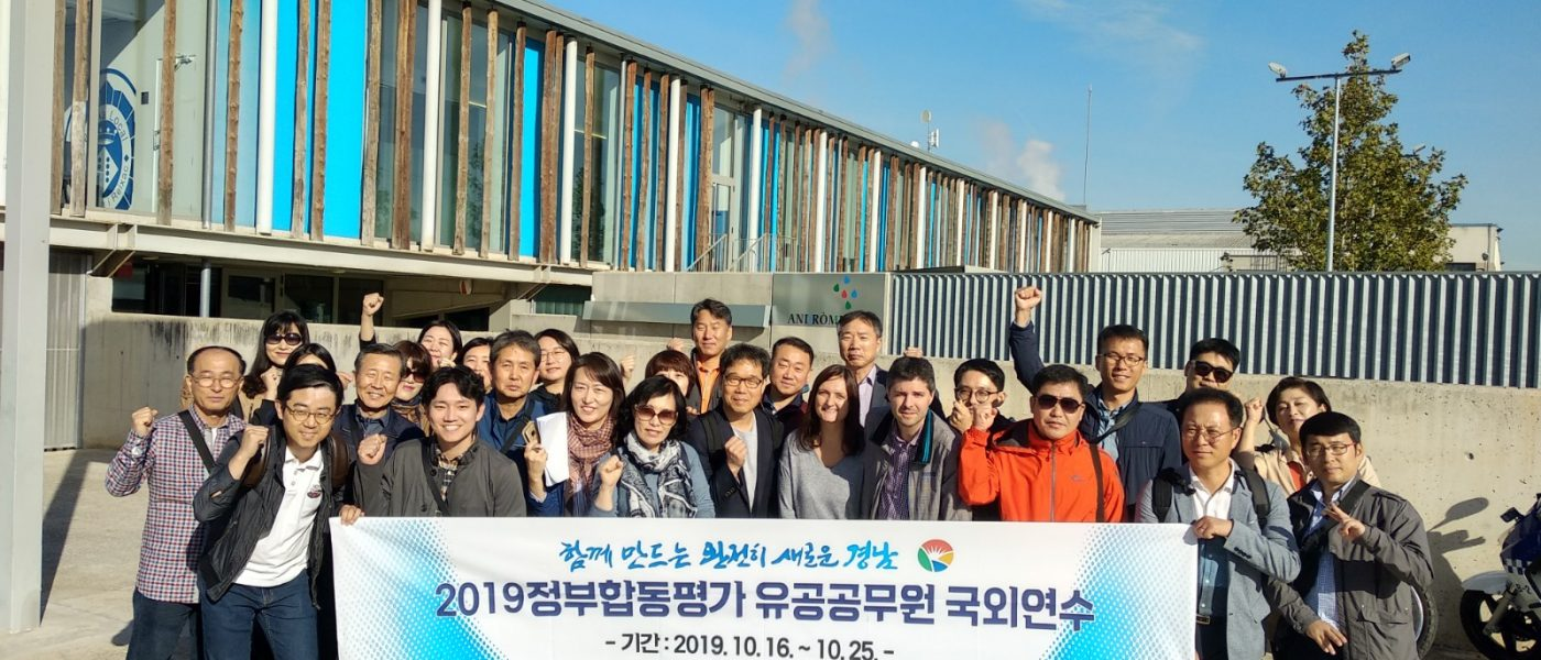 Visita de diverses administracions de Corea del Sud a Andròmines