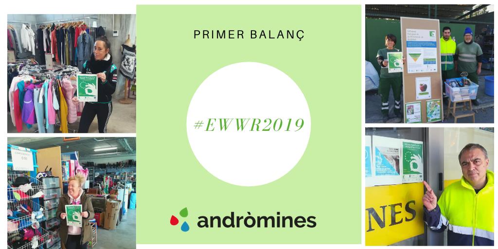 Un primer balanç de la Setmana Europea de prevenció de Residus