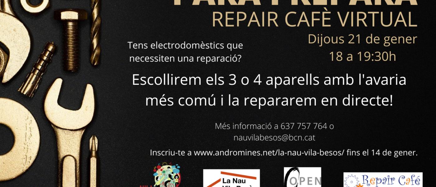 Vols aprendre a reparar petits electrodomèstics? Al Repair Cafè 🔧☕t'ho ensenyem!
