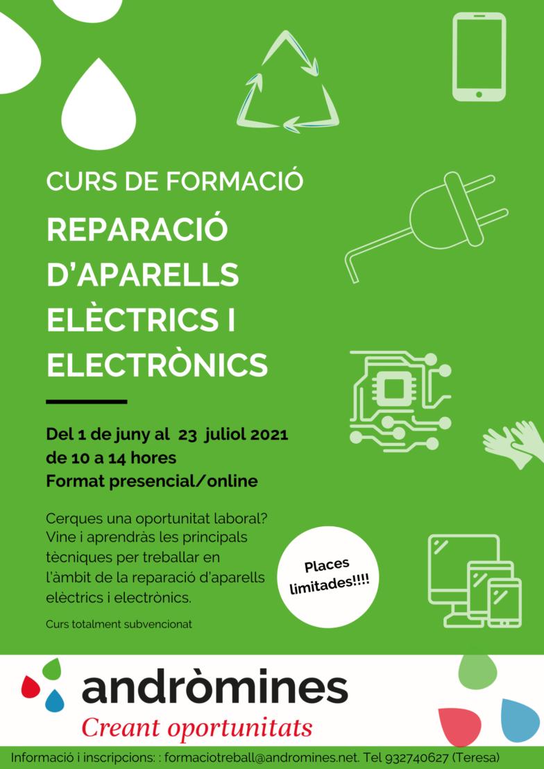 Nova formació: Reparació d'aparells elèctrics i electrònics.