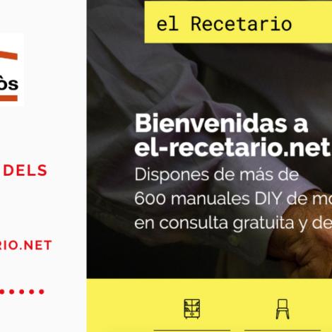 Crea a partir dels residus: www.el-recetario.net