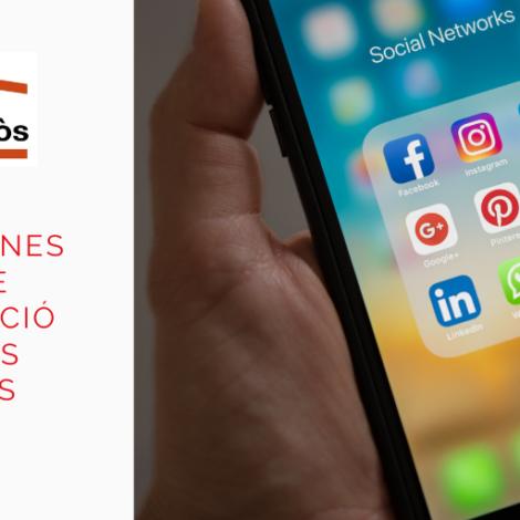 Xarxes socials: eines clau de comunicació per a les entitats