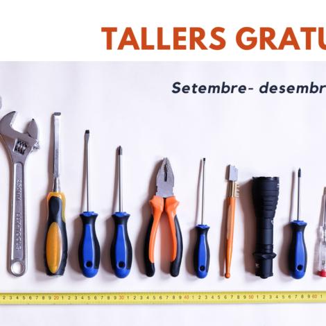 Programació de tallers a la Nau Vila Besòs – Setembre-desembre 2021