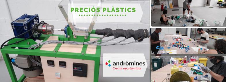 La primera etapa de Preciós Plàstic a Andròmines